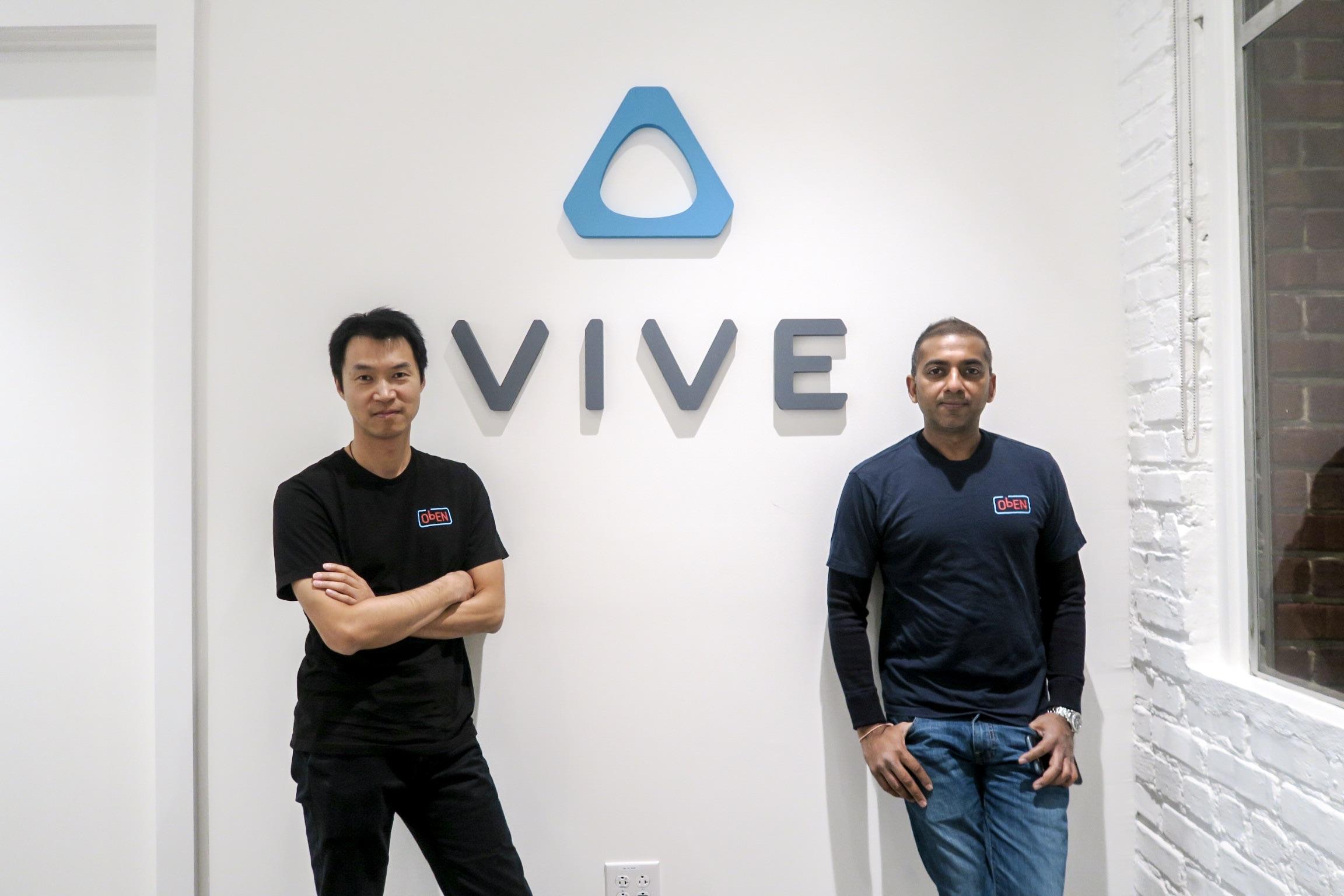 ObEN cofounders Nikhil Jain + Adam Zheng