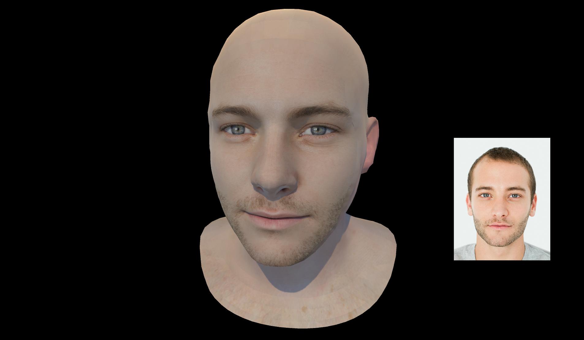 ObEN 3D Virtual Avatar from 2D Selfie