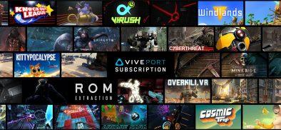玩到瘋!VIVEPORT虛擬實境內容訂閱服務新增75款以上全新內容!