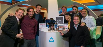 HTC VIVE於CES 2018 橫掃全球22項大獎!