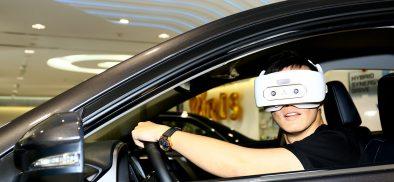 VIVE FOCUS與台灣TOYOTA總代理和泰汽車共推VR沉浸賞車方案!