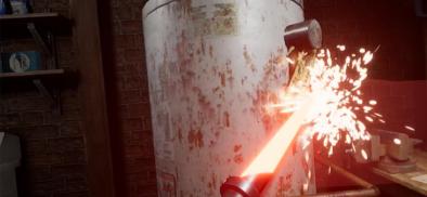 這是認真的嗎?林內熱水器要你用VR光劍砍爆水塔?