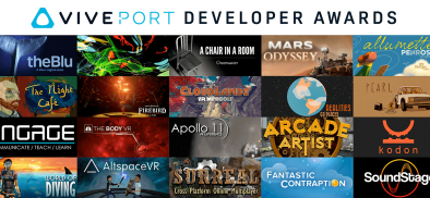 The Viveport Developer Award winners are . . .