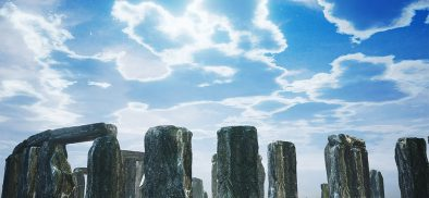 A gateway to Stonehenge: VR in a museum setting