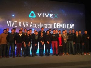 HTC Vive X Batch 1 companies at Beijing Demo Day