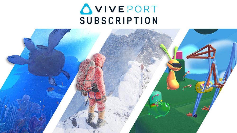 Viveport Subscriptions - April 2017