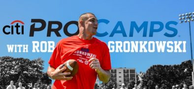 Jaunt VR hosts Rob Gronkowski's ProCamp in VR