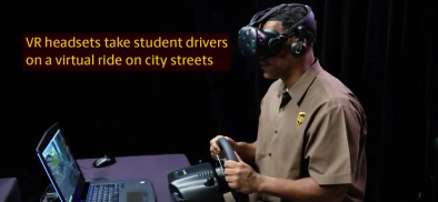 UPS rewrites the rules of driver training using HTC Vive