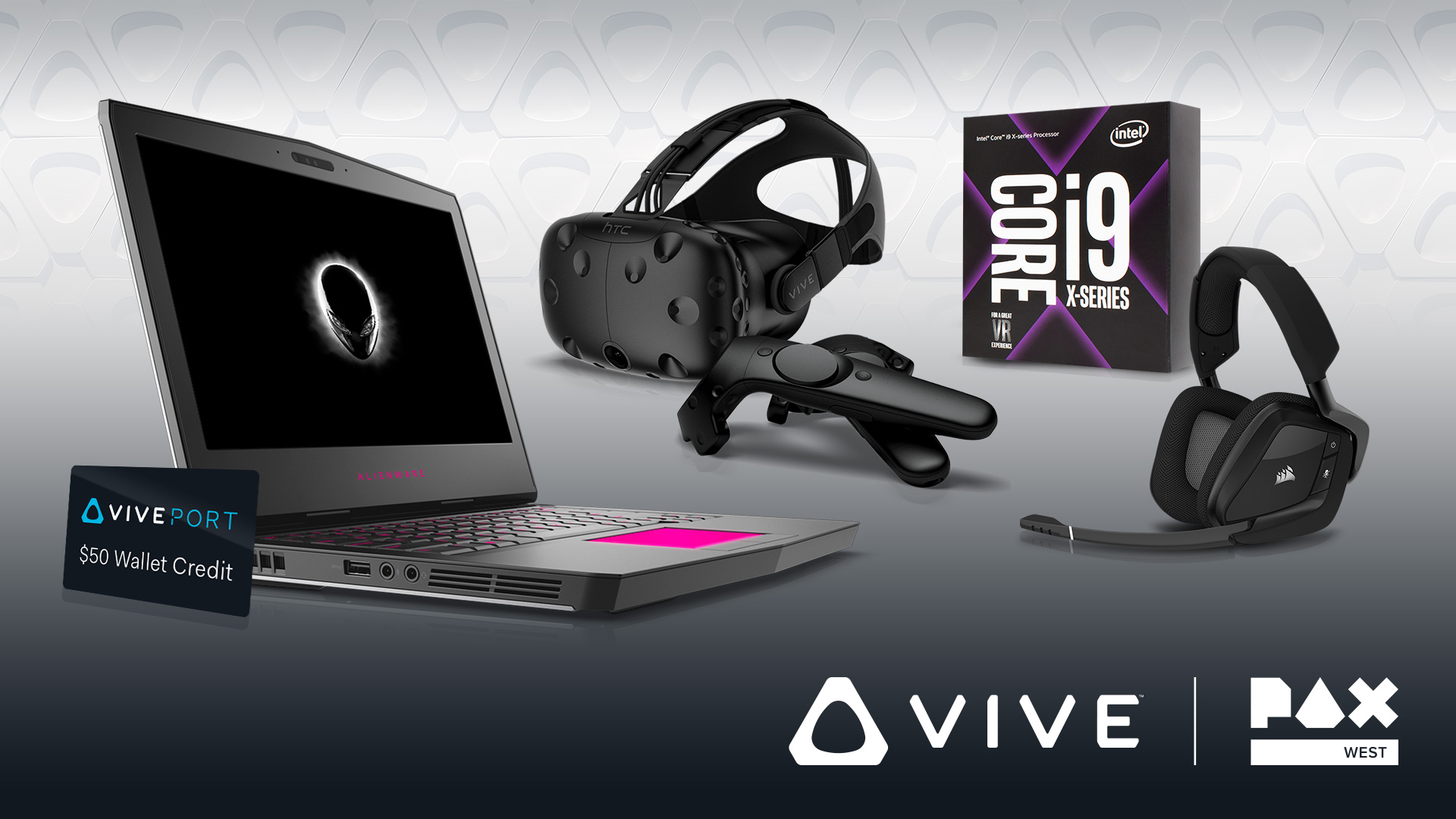 PAX West 2017 VR Treasure Hunt Prizes