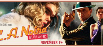 Rockstar Games Announce L.A Noire: The VR Case Files For The HTC VIVE