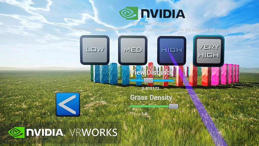 Stonehenge VR - Nvidia VRWorks
