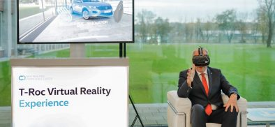 Volkswagen Launch The T-Roc Virtual Reality Experience