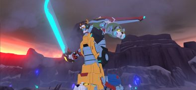 DreamWorks' legendary VR experience – Voltron!