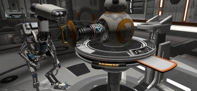 Test your astro-mechanic skills in Star Wars: Droid Repair Bay