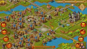 Townsmen - mobile version screenshot