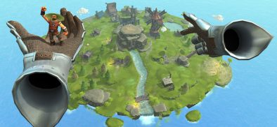 Playing a virtual god in Townsmen VR