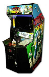 Taito's Operation Wolf arcade cabinet