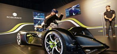 Roborace and VIVE Blaze a Trail on the Self-Driving Car Circuit