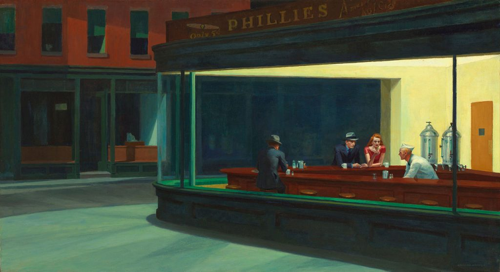 'Nighthawks' by Edward Hopper