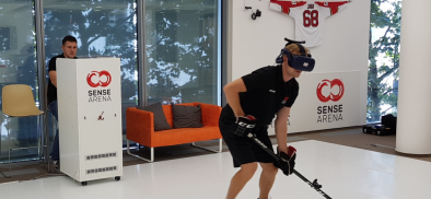 A Look at Sense Arena, VR's First Pro-Level Hockey Training Tool