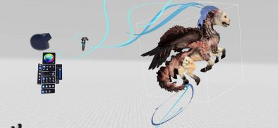 Creating virtual art with MasterpieceVR