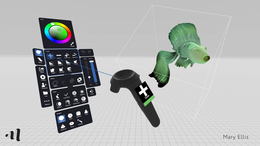 Creating virtual art with MasterpieceVR - VIVE Blog