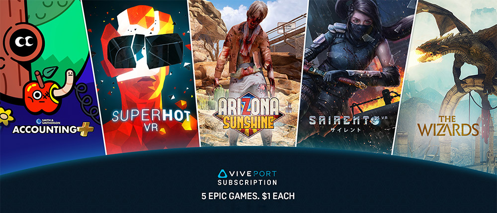 The Viveport Subscription Epic Black Friday Pre Sale Vive Blog