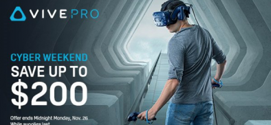 Snag The Best Deal Ever on VIVE Pro—This Weekend Only