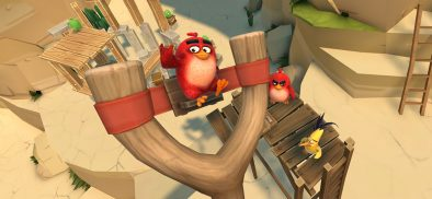 Feathers will fly as the mobile hit Angry Birds arrives on Viveport