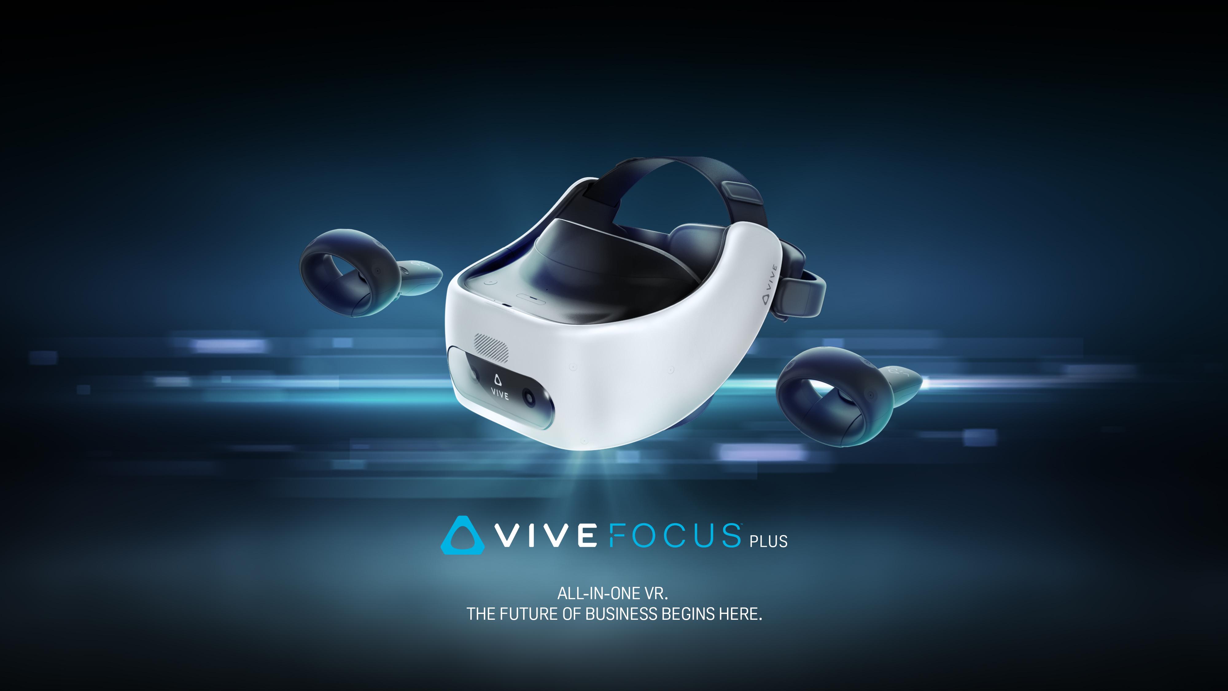 Introducing the VIVE Focus Plus for Premium Standalone VR