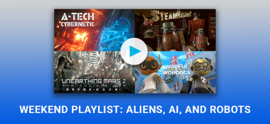 Infinity Weekend Playlist: Aliens, AI and Robots