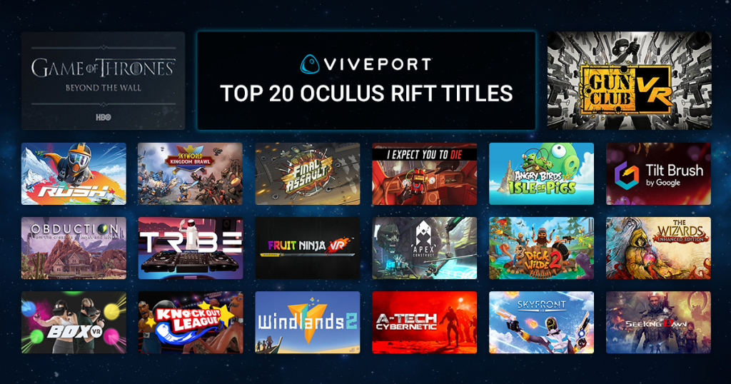 How Oculus Rift and Rift S Owners Can Set Up Viveport to