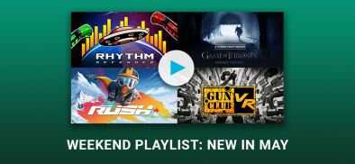 Infinity Weekend Playlist: New to Infinity in May