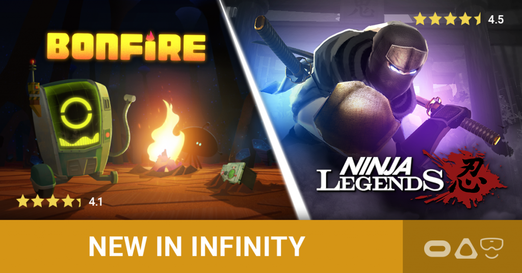Chatty Robots & Ninja Action in the Top VIVEPORT INFINITY Titles for August