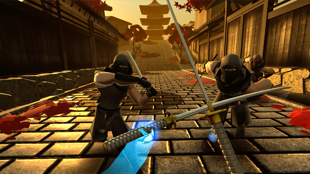 Become a virtual shinobi in the fast paced action experience Ninja