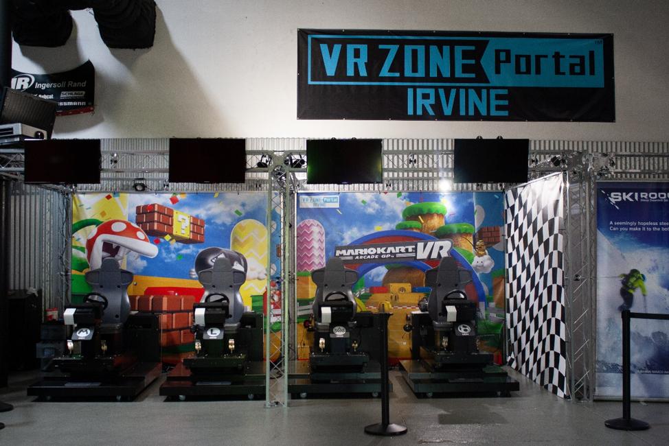 Mario Kart x VR Zone Portal x VIVE