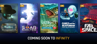 Coming Soon to Infinity: Abode 2 & Ultimate Fishing Simulator VR