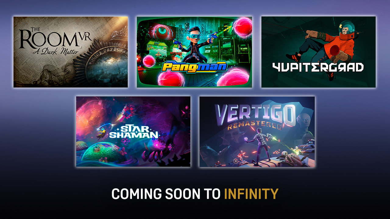 Coming soon to Viveport Infinity in September