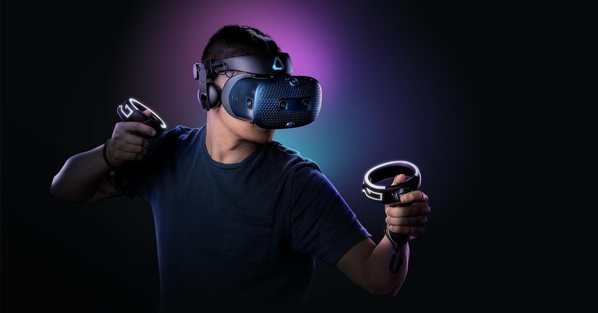 VR Headset: VIVE Cosmos Virtual Reality