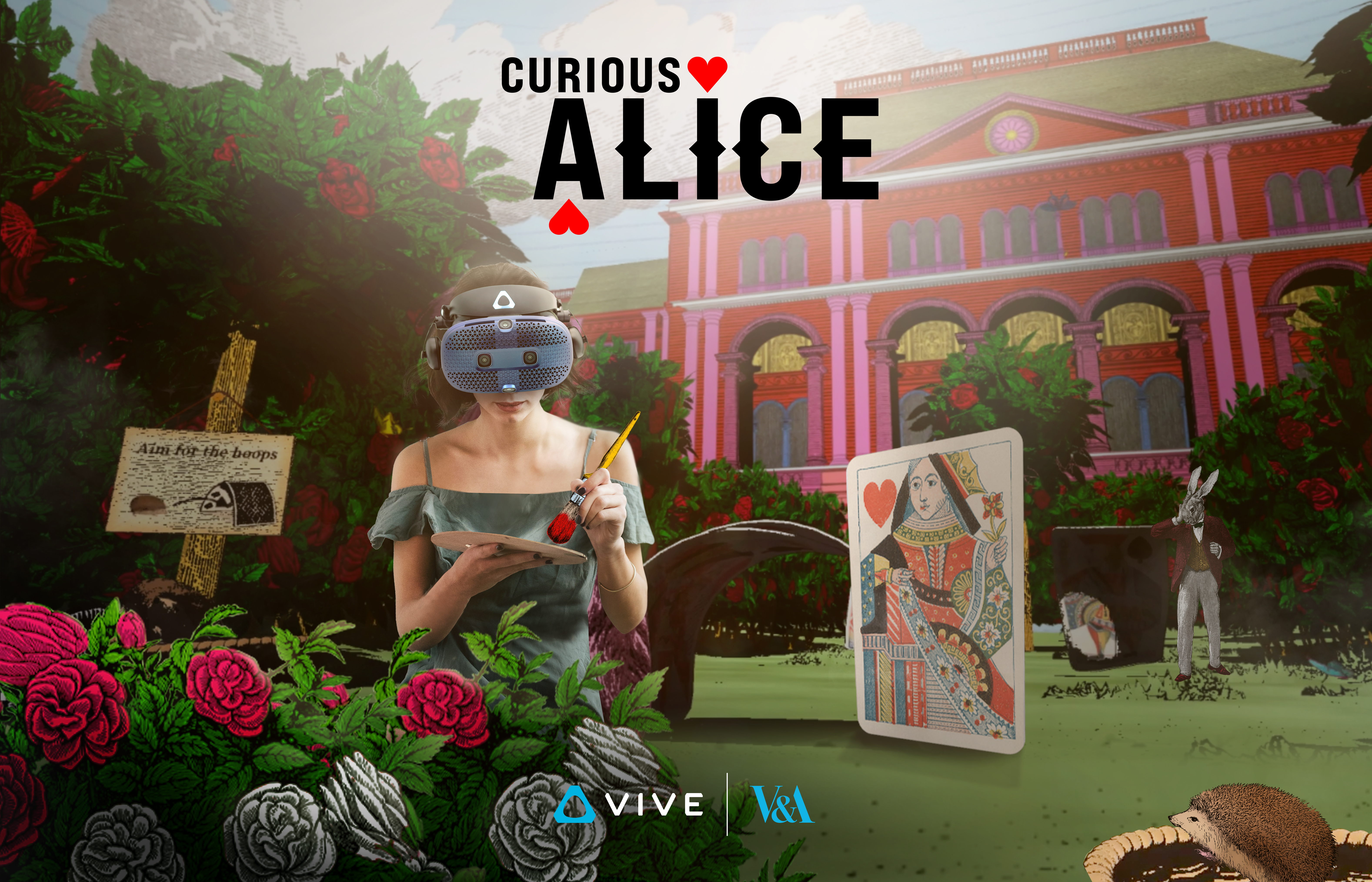 Curious Alice VR Experience