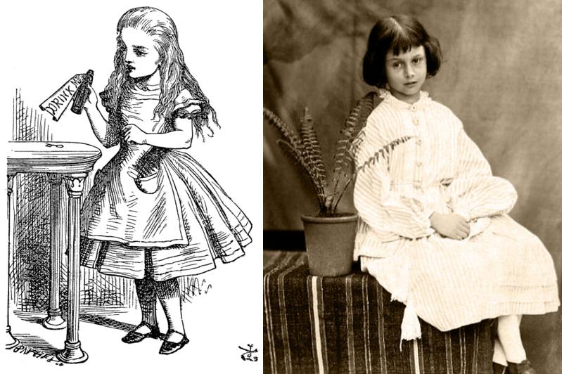 Alice Liddel of Alice in Wonderland