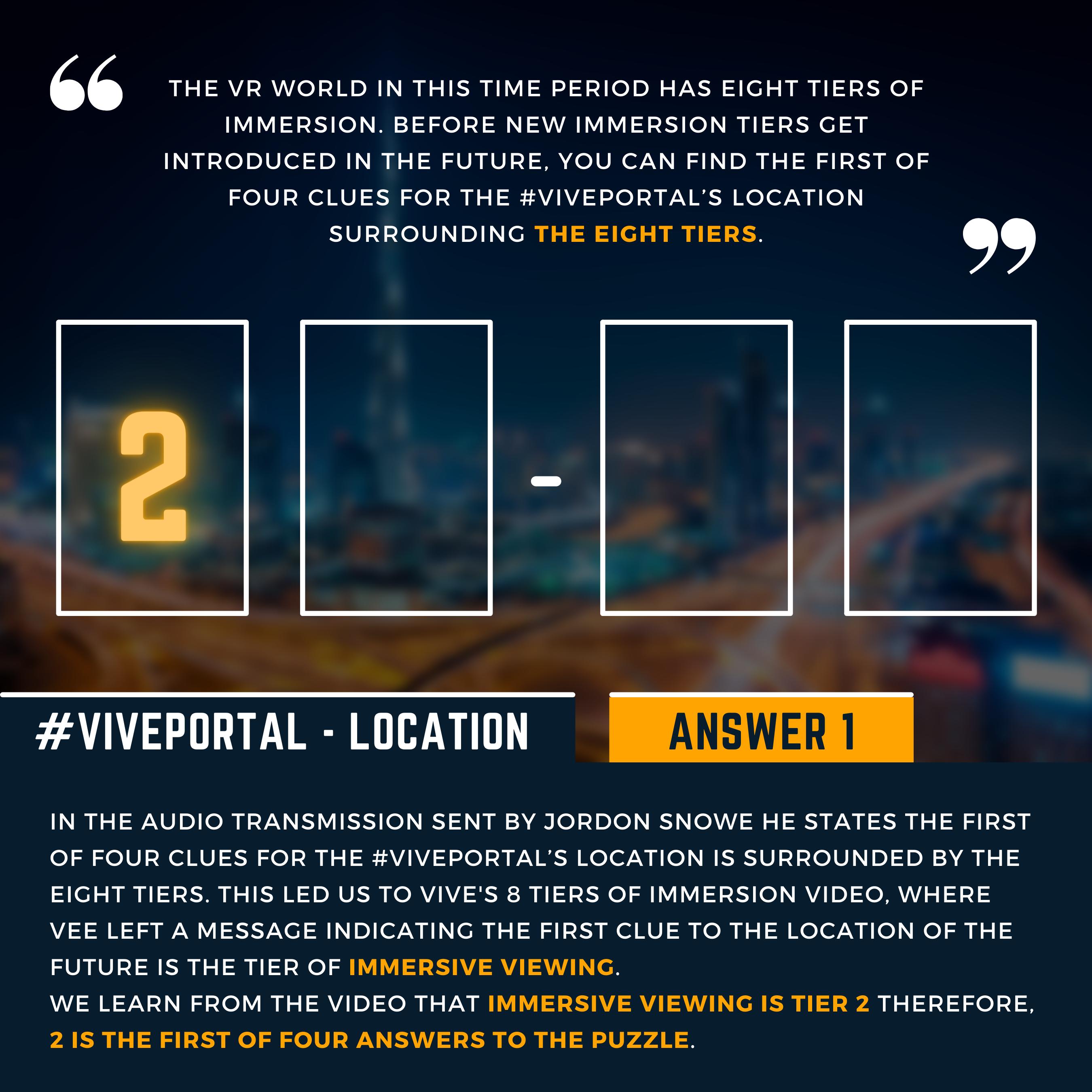 #VIVEPORTAL ARG