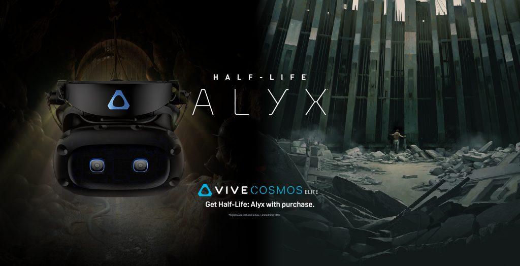 Cosmos Elite with Half Life ALyx
